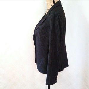 LOFT Jackets & Coats - Ann Taylor Loft Pin Stripe Jacket 12P